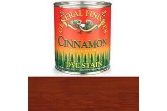 (1 Quart, Cinnamon) - General Finishes, Water Based Dye, Cinnamon, Quart