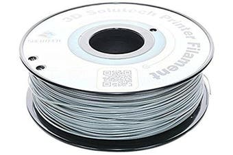 3D Solutech 3DSPLA175GRY Real Grey 3D Printer PLA Filament 1.75 mm Filament, Dimensional Accuracy +/- 0.03 mm, 2.2 lb. (1.0 kg) - 100% USA