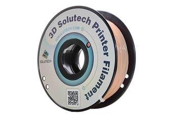 3D Solutech 3DSPLA175SKN Skin 3D Printer PLA Filament 1.75 mm Filament, Dimensional Accuracy +/- 0.03 mm, 2.2 lb. (1.0 kg) - 100% USA