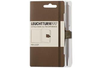 (Taupe) - LEUCHTTURM1917 342940 Pen Loop, self-adhesive, taupe