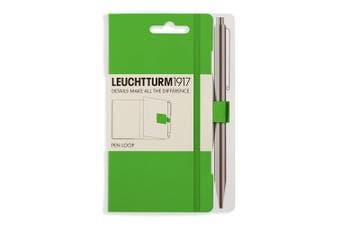 (fresh green) - LEUCHTTURM1917 357521 Pen Loop (pencil holder), self-adhesive, fresh green