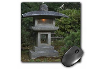 3dRose Stone lantern in Portland Japanese Garden, USA - US38 WSU0159 - William Sutton, Mouse Pad, 20cm by 20cm