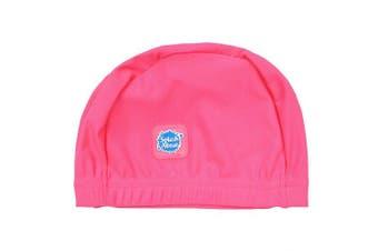 (0-18 Months, Pink Geranium) - Splash About Baby Swimming Hats