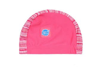 (18+ months, Pink Classic) - Splash About Baby Swimming Hats