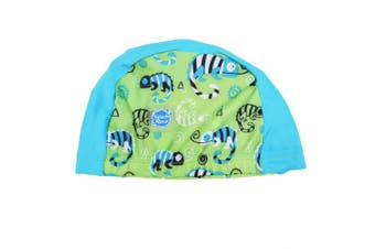(0-18 Months, Green Gecko) - Splash About Baby Swimming Hats