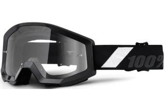 (Goliath/Clear Lens) - 100% Strata Unisex Enduro Goggles