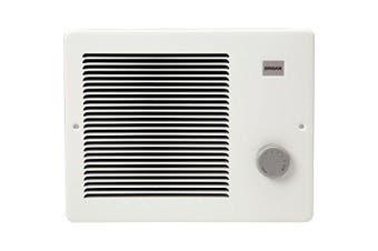 (750/1500W) - broan 174 wall heater, 750/1500 watt 120 vac, white painted grille