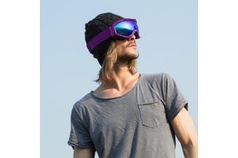 (VLT 15.5%) - OutdoorMaster OTG Ski Goggles - Over Glasses Ski/Snowboard Goggles for Men, Women & Youth - 100% UV Protection