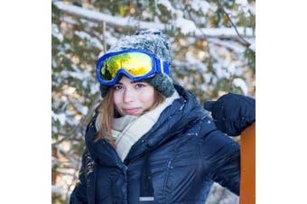 (VLT 13.5%) - OutdoorMaster OTG Ski Goggles - Over Glasses Ski/Snowboard Goggles for Men, Women & Youth - 100% UV Protection