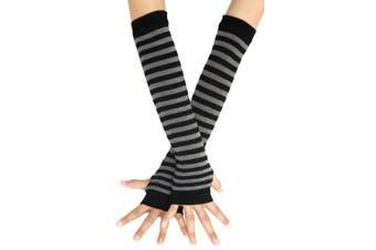 Bienvenu Winter Arm Hand Warmer Knitted Long Fingerless Gloves Mitten