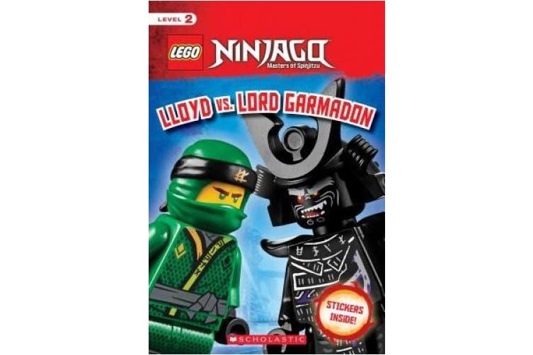 Lloyd vs. Lord Garmadon (Lego Ninjago: Scholastic Reader, Level 2 with Stickers) (Lego Ninjago)