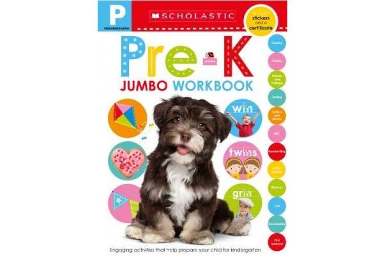 Jumbo Workbook: Pre-K (Scholastic Early Learners) (Scholastic Early Learners)