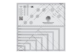 Creative Grids Ultimate Flying Geese Template and Quilt Ruler (CGRDH4)