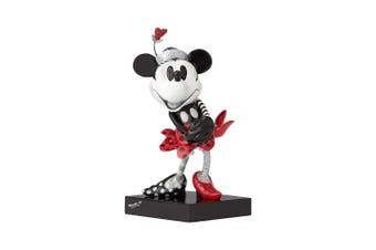 Enesco Disney by Britto Steamboat Minnie Stone Resin Figurine, 17cm