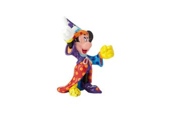 Enesco Disney by Britto Sorcerer Mickey Mini Stone Resin Figurine, 9.5cm