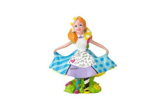 Enesco Disney by Britto Alice Mini Stone Resin Figurine, 9.8cm