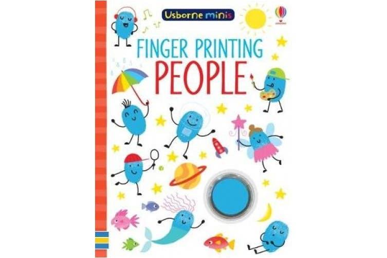 Finger Printing People (Usborne Minis)