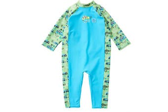 (1 - 2 Years, Green Gecko) - Splash About Unisex Baby Toddler Uv-Sun Suit Toddler Uv Sun Suit