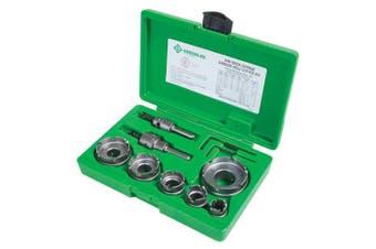 Greenlee 648 Quick Change Carbide Cutter Set, 8pcs