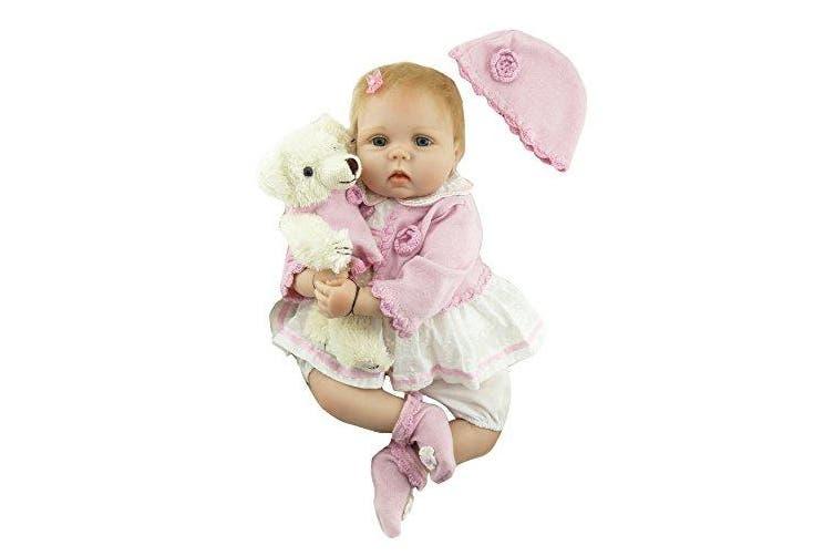(Mohair) - Pinky Reborn 60cm Realistic Reborn Baby Dolls ...