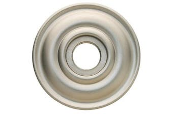 Baldwin 5148.I Single Estate Rosette for Privacy Functions, Satin Nickel