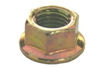 50 Hex Flange Nuts M10-1.25 Thread 19mm Flange O.D.