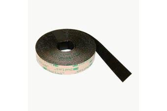 3M Scotch SJ4575 Dual Lock Low Profile Reclosable Fastener: 1.6cm . x 10 ft. (Black)