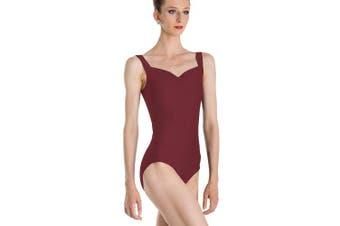 (X-Small, Brown) - Wear Moi Faustine's Leotard, women's, Faustine