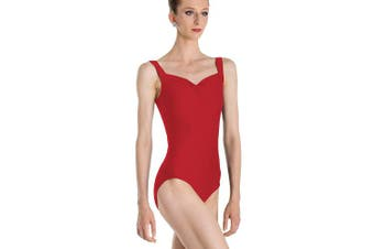 (Large, red) - Wear Moi Faustine's Leotard, women's, Faustine