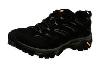 (9.5 UK, Black (Black)) - Merrell Men''s Moab 2 GTX Low Rise Hiking Boots