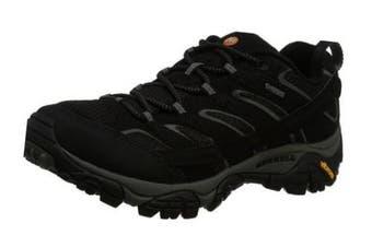 (13 UK, Black (Black)) - Merrell Men''s Moab 2 GTX Low Rise Hiking Boots