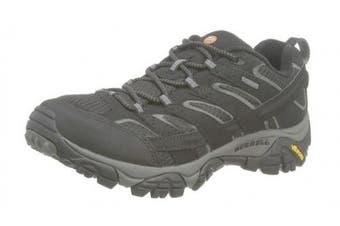 (7 UK, Black (Black)) - Merrell Men''s Moab 2 GTX Low Rise Hiking Boots