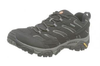 (11 UK, Black (Black)) - Merrell Men''s Moab 2 GTX Low Rise Hiking Boots