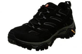 (8.5 UK, Black (Black)) - Merrell Men''s Moab 2 GTX Low Rise Hiking Boots