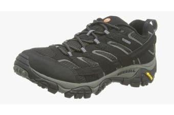 (10 UK, Black (Black)) - Merrell Men''s Moab 2 GTX Low Rise Hiking Boots