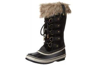 (6 UK, Black (Black/Stone 010)) - Sorel Women's Joan Of Arctic Snow Boots