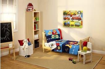 (Under Construction) - Everything Kids Toddler Bedding Set, Under Construction