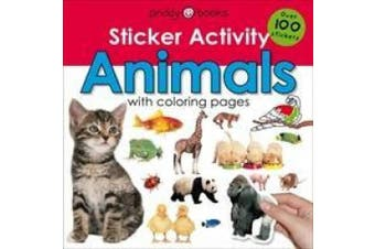 Sticker Activity Animals (Early Learning Sticker Activity)