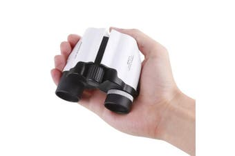(8*21 White) - 8X21 Kids Binoculars, BRIGENIUS Compact Shock Proof Binocular for Kids - Best Gifts - Bird Watching - Presents for Kids - Children Gifts - Boys and Girls - Outdoor Play - Hiking - Camping Gear