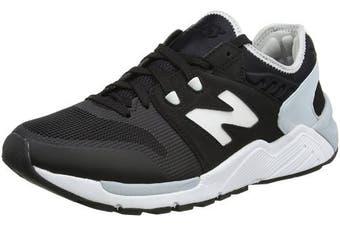 (9 UK, Black) - New Balance 9, Men Low-Top Sneakers
