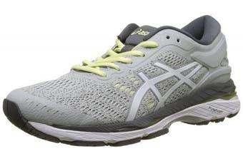 (4 UK, Gray (Glacier Grey/White/Carbon 9601)) - ASICS Women's Gel-Kayano 24 Running Shoes