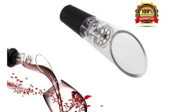 Wine Aerator by iPour Diffuser Pourer Decanter Wine Gifts For Women Gift Black
