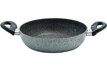 (32 Cm) - BALLARINI Cortina Granitium Collection Pan with 2 Handles, Non-Stick 32 Cm Grey