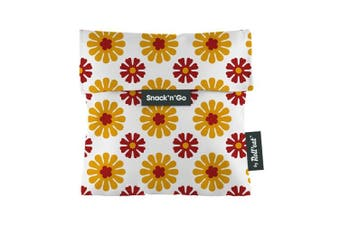 (Orange) - Roll'eat - Snack'n'Go Tiles - Porta Snack Bag Organic Snacks and reusable BPA | Porta cover Sandwich, Unisex, Design Gràcia