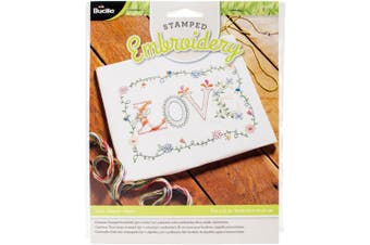 Bucilla Stamped Embroidery Kit 20cm x 25cm