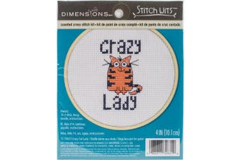Dimensions/Stitch Wits Counted Cross Stitch Kit 10cm