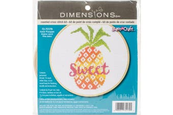 Dimensions Counted Cross Stitch Kit 15cm