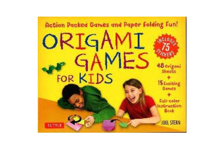 Origami Fun for Kids Kit - Tuttle Publishing | 502x753