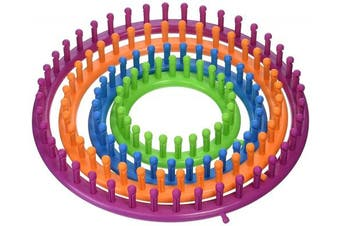 (Multicolor) - Boye Round Loom Set