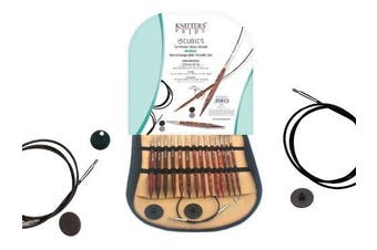 (Deluxe Interchangeable Needle Set) - Knitter's Pride-Cubics Deluxe Interchangeable Needles Set